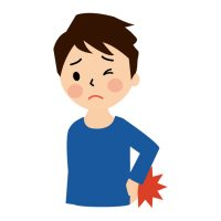 背中が痛いせいで毎日不安…原因がわかれば怖くない
